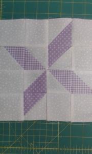 Sarah's pinwheel star